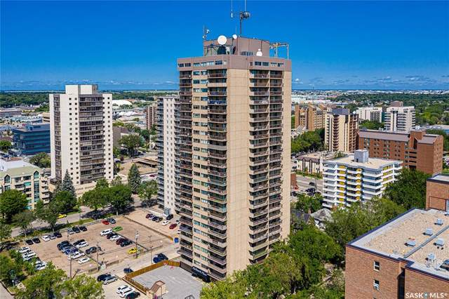 311 6th Avenue N #1403, Saskatoon, SK S7K 7A9 (MLS #SK864102) :: The A Team