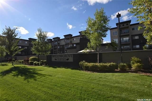 115 Willowgrove Crescent #302, Saskatoon, SK S7W 0N4 (MLS #SK870443) :: The A Team