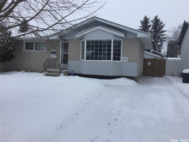26 Byers Crescent, Saskatoon, SK S7L 4H2 (MLS #SK758932) :: The A Team