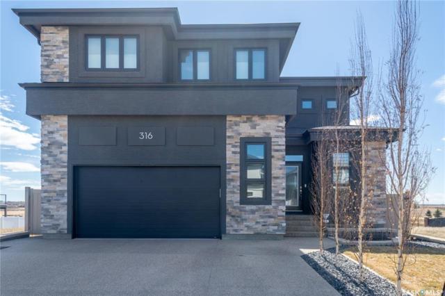 316 Brookview Drive, Regina, SK S4Y 0B2 (MLS #SK760069) :: The A Team