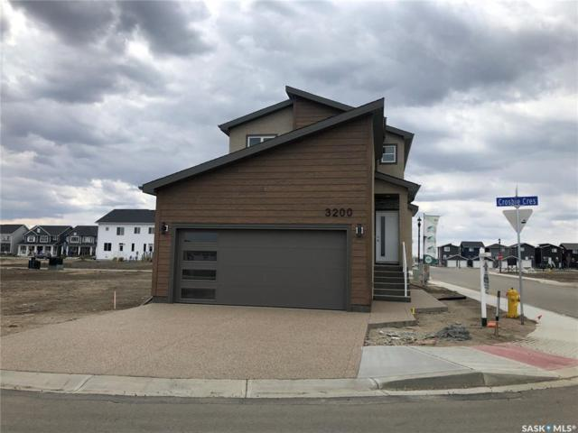 3200 Crosbie Crescent, Regina, SK S4V 3S4 (MLS #SK766978) :: The A Team
