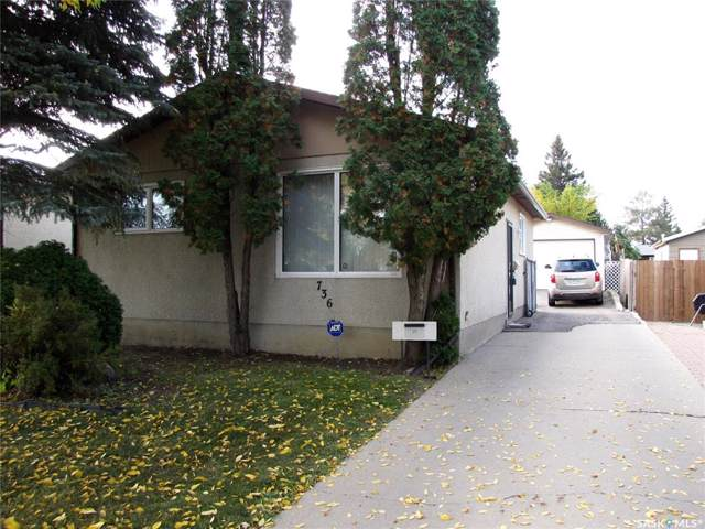 736 Matheson Drive, Saskatoon, SK S7L 3Y7 (MLS #SK786761) :: The A Team