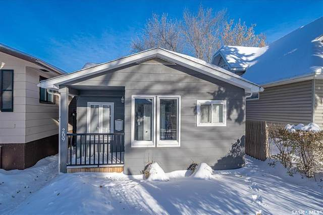 209 5th Street E, Saskatoon, SK S7H 1E6 (MLS #SK831288) :: The A Team