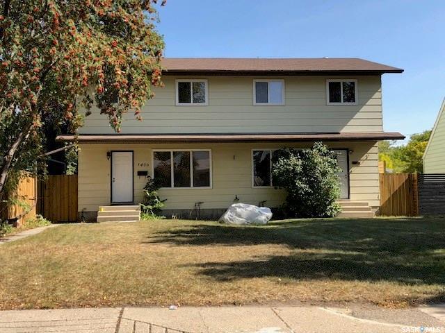 1404/1406 9th Avenue N, Saskatoon, SK S7K 2Z5 (MLS #SK746643) :: The A Team