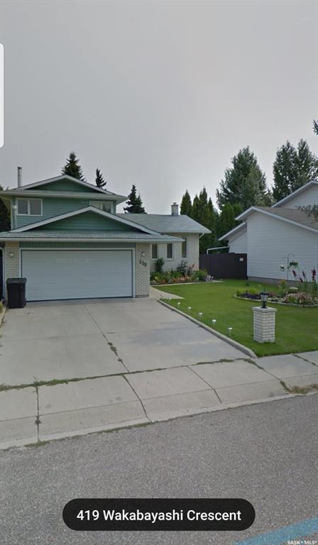 419 Wakabayashi Crescent, Saskatoon, SK S7K 7L7 (MLS #SK759163) :: The A Team