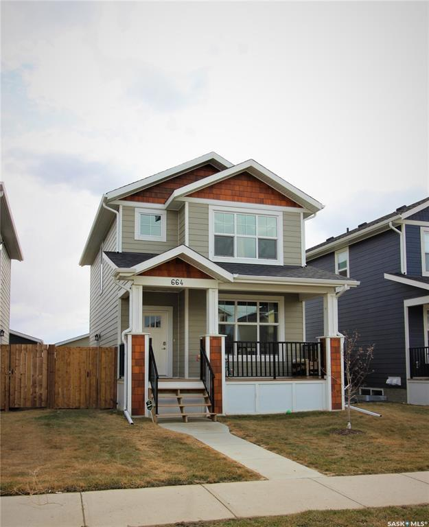 664 Meadows Boulevard, Saskatoon, SK S7V 0E4 (MLS #SK767166) :: The A Team
