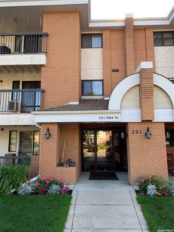 201 Cree Place #211, Saskatoon, SK S7K 7Z3 (MLS #SK787027) :: The A Team