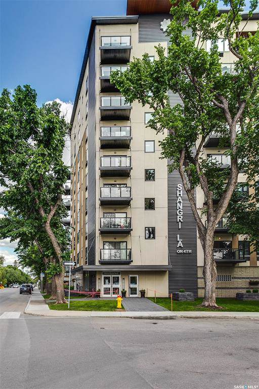 550 4th Avenue N #708, Saskatoon, SK S7K 2M7 (MLS #SK793817) :: The A Team