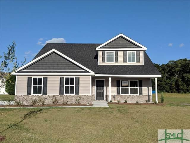 100 Edmondson Drive, Guyton, GA 31312 (MLS #206518) :: Liza DiMarco