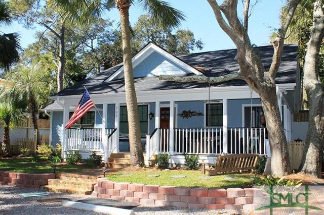 707 2nd, Tybee Island, GA 31328 (MLS #175395) :: The Arlow Real Estate Group