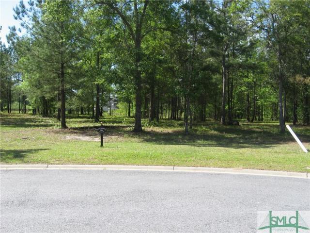 125 Sussex Retreat, Pooler, GA 31322 (MLS #175613) :: Coastal Savannah Homes