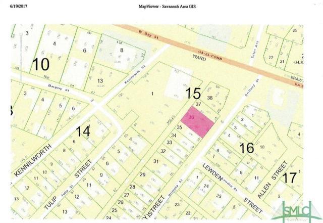 2101 W Bay Street, Savannah, GA 31415 (MLS #175686) :: The Arlow Real Estate Group