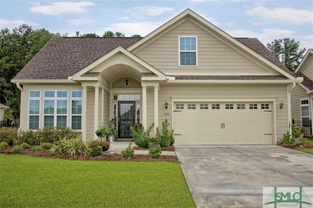 196 Kingfisher Circle, Pooler, GA 31322 (MLS #175752) :: The Arlow Real Estate Group