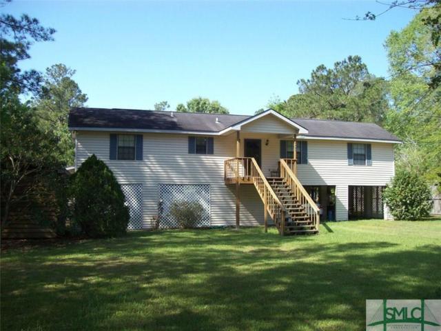 493 Tideland Drive, Midway, GA 31320 (MLS #177005) :: Coastal Savannah Homes