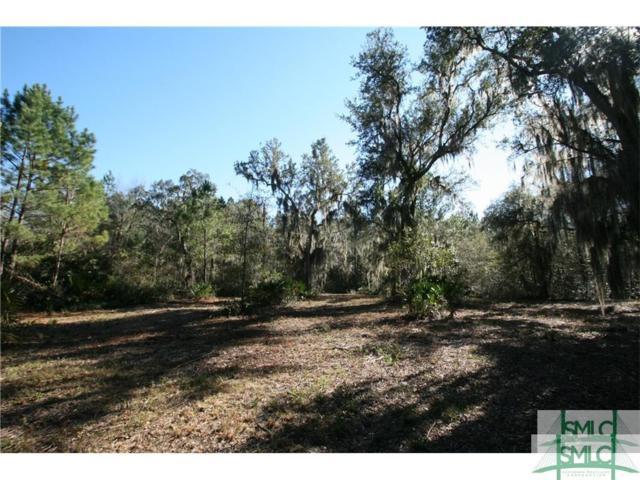 0 Black Sunday Road, Midway, GA 31320 (MLS #178477) :: Coastal Savannah Homes