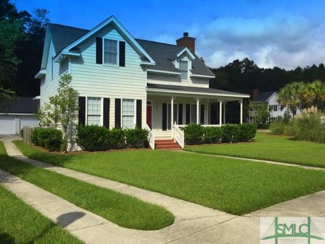 101 Sabal Lane, Savannah, GA 31405 (MLS #178970) :: Coastal Savannah Homes