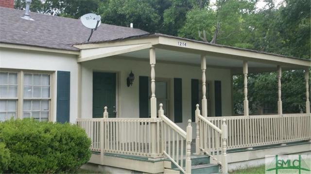 1214 E 55th Street, Savannah, GA 31404 (MLS #181187) :: Coastal Savannah Homes