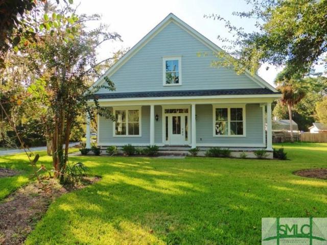 49 Tidewater Road, Savannah, GA 31406 (MLS #181241) :: The Arlow Real Estate Group