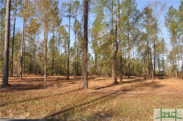 0 Captain Cone Lot # 11 Court, Brooklet, GA 30415 (MLS #181930) :: The Randy Bocook Real Estate Team