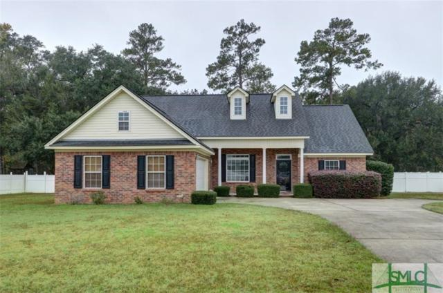 336 Flat Bush Drive, Guyton, GA 31312 (MLS #182273) :: Coastal Savannah Homes