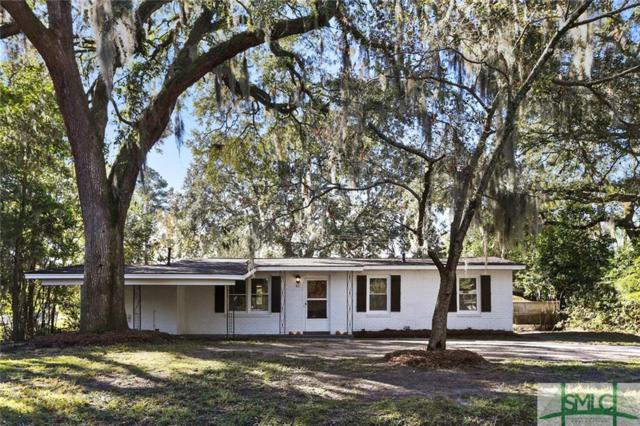 411 Cranman Drive, Savannah, GA 31406 (MLS #182439) :: Coastal Savannah Homes