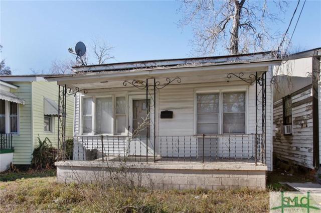 123 Scarborough Street, Savannah, GA 31415 (MLS #184263) :: Coastal Savannah Homes