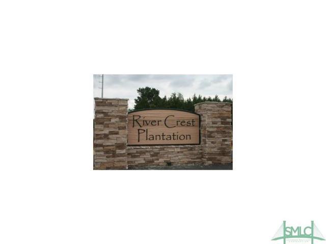0 Rivercrest, Brooklet, GA 30415 (MLS #184848) :: Coastal Savannah Homes