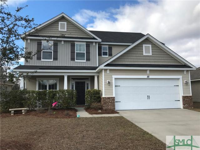 55 Tranquil Place, Pooler, GA 31322 (MLS #185071) :: Coastal Savannah Homes