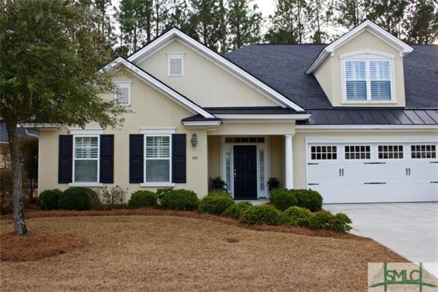 121 Mallory Place, Pooler, GA 31322 (MLS #185269) :: Coastal Savannah Homes