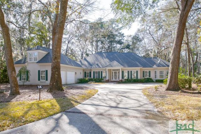 14 Black Hawk Trail, Savannah, GA 31411 (MLS #185555) :: Coastal Savannah Homes