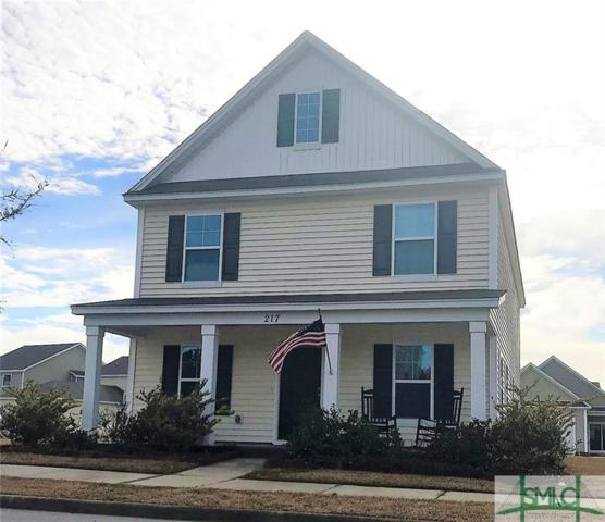 217 Dogwood Circle, Port Wentworth, GA 31407 (MLS #185643) :: Coastal Savannah Homes