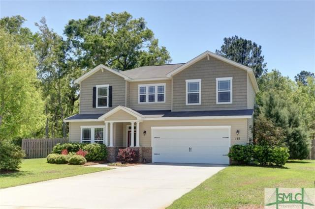 181 Magnolia Drive, Pooler, GA 31322 (MLS #187551) :: The Robin Boaen Group