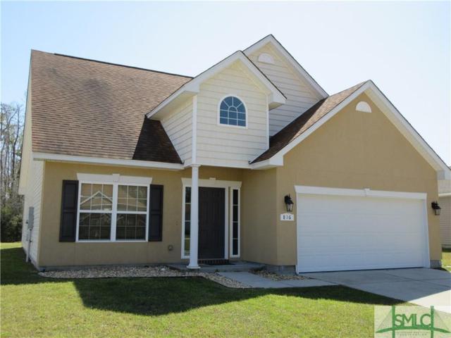 816 Hyacinth Circle, Guyton, GA 31312 (MLS #187703) :: Coastal Savannah Homes