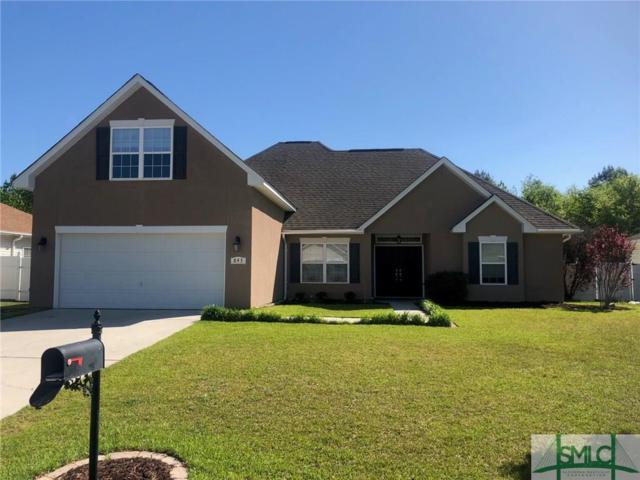 843 Hyacinth Circle, Guyton, GA 31312 (MLS #188911) :: Coastal Savannah Homes