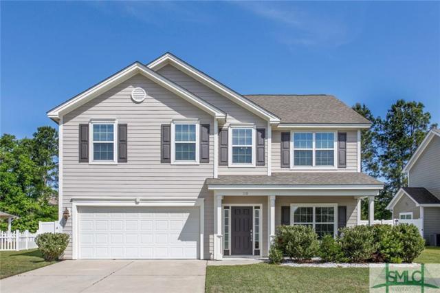 110 Belle Gate Drive, Pooler, GA 31322 (MLS #189306) :: Coastal Savannah Homes