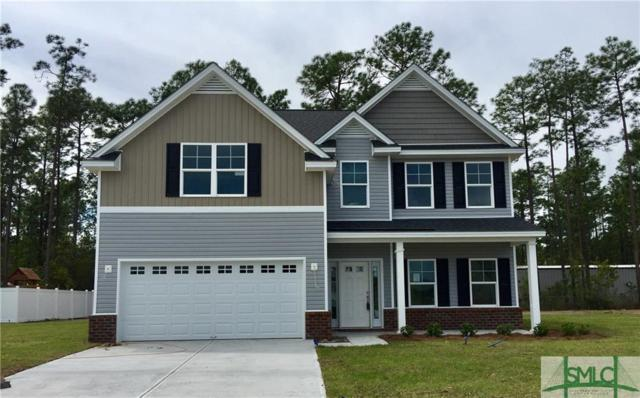 110 Caravelle Drive, Guyton, GA 31312 (MLS #189692) :: Coastal Savannah Homes