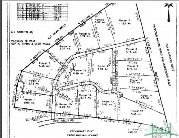 Lot #15 John Wells Road, Hinesville, GA 31313 (MLS #190327) :: The Arlow Real Estate Group