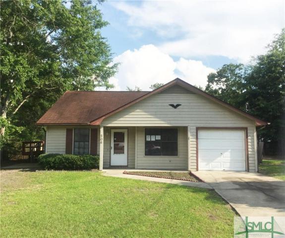 506 Idlewood Circle, Hinesville, GA 31313 (MLS #192643) :: The Arlow Real Estate Group