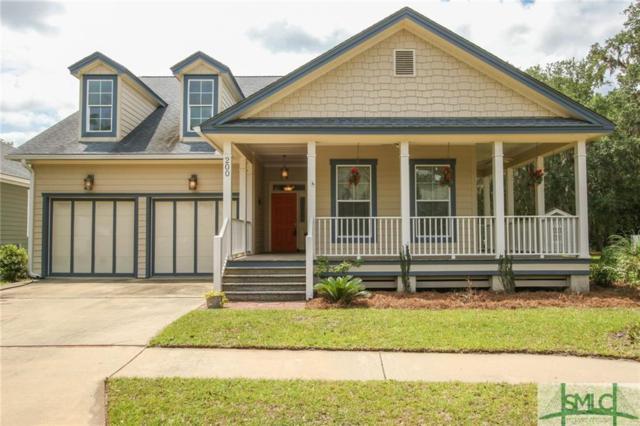 200 Village Drive, Midway, GA 31320 (MLS #192850) :: Coastal Savannah Homes