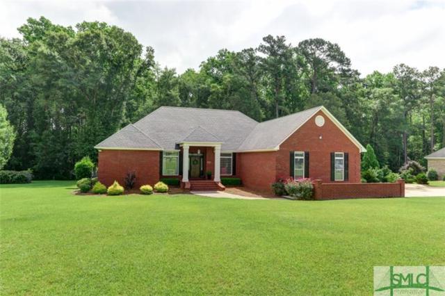 111 Oak Ridge Drive, Glennville, GA 30427 (MLS #193117) :: Karyn Thomas