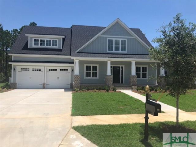 124 Tupelo Street, Pooler, GA 31322 (MLS #193127) :: The Arlow Real Estate Group