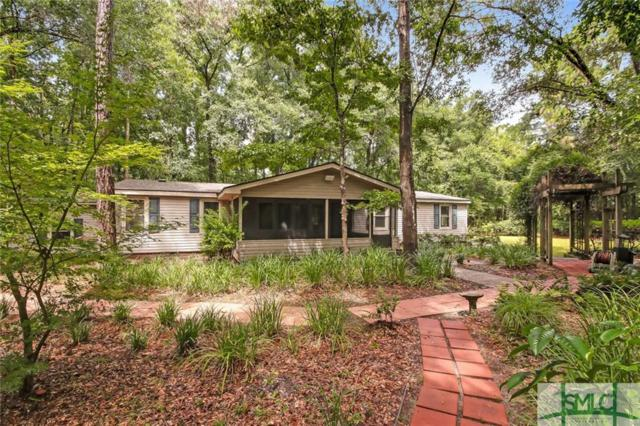 156 Bluff Drive, Bloomingdale, GA 31302 (MLS #194700) :: Heather Murphy Real Estate Group