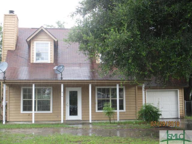 614 Honey Creek Lane, Hinesville, GA 31313 (MLS #194707) :: Coastal Savannah Homes