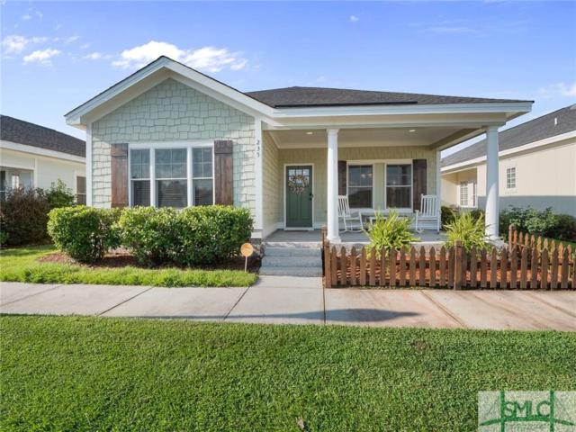 235 Dogwood Circle, Port Wentworth, GA 31407 (MLS #195093) :: The Arlow Real Estate Group