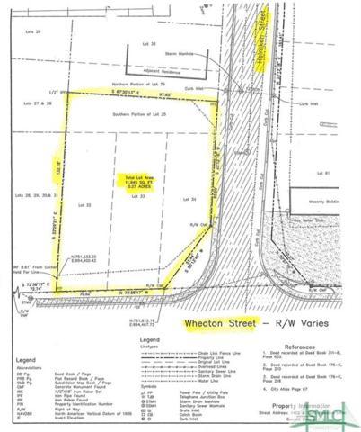 0 Wheaton Street, Savannah, GA 31404 (MLS #195117) :: The Arlow Real Estate Group