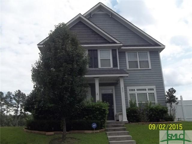 233 Clearwater Circle, Port Wentworth, GA 31407 (MLS #195200) :: The Randy Bocook Real Estate Team