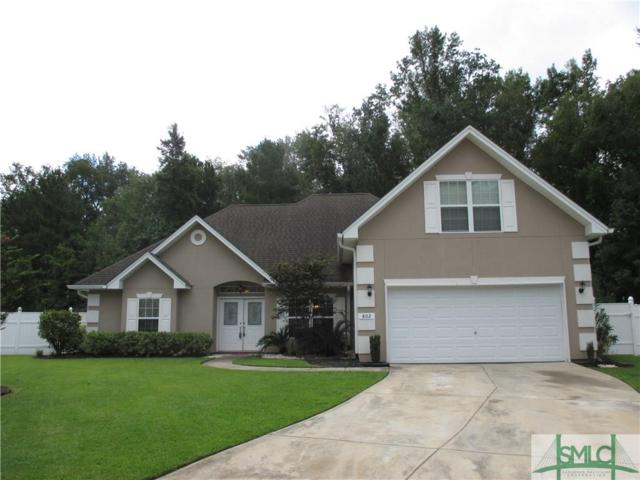 802 Hyacinth Circle, Guyton, GA 31312 (MLS #196144) :: The Robin Boaen Group