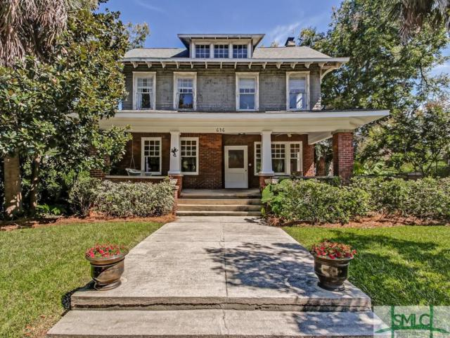 636 E 41st Street, Savannah, GA 31401 (MLS #196180) :: The Robin Boaen Group