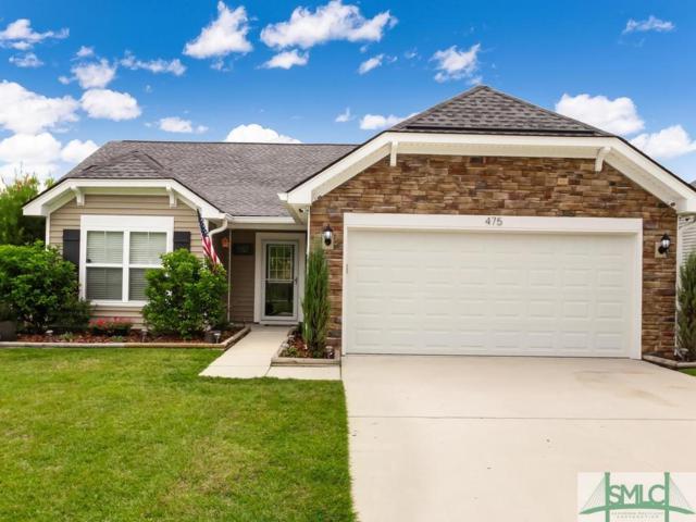 475 Stonebridge Circle, Savannah, GA 31419 (MLS #196559) :: Coastal Savannah Homes