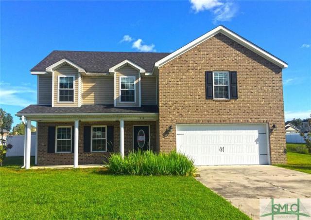 914 Oak Crest Drive, Hinesville, GA 31313 (MLS #196815) :: The Arlow Real Estate Group